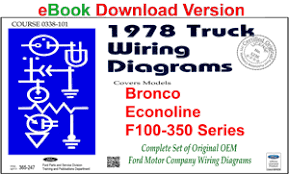 forel publishing llc 1978 ford truck wiring diagrams f100 ebook