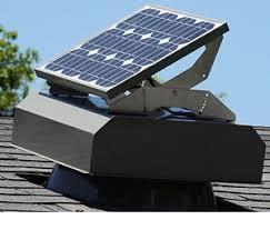solar attic vent fan attic breeze solar attic fans