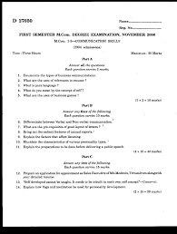 What Is Reference In Resume Calicut University 2006 M Com Commerce Communication Skills