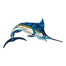 blue marlin embroidery designs machine embroidery designs at