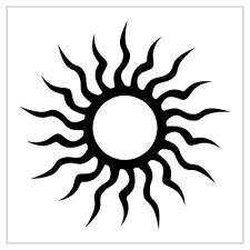 louhan tattoos tribal sun tattoos