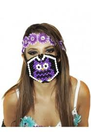 kandi mask owl kandi mask masks from raveready