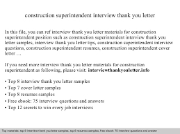 Construction Superintendent Resume Samples by Construction Superintendent
