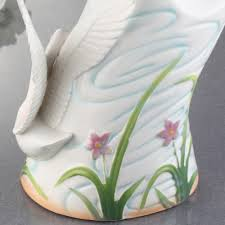 swan flower vase picture more detailed picture about ceramic