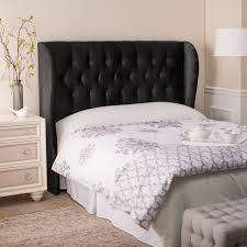 king upholstered headboard with nailhead trim headboards superb upholstered wingback headboard king