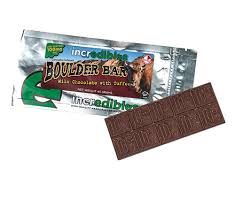 incredibles edibles incredibles 100mg chocolate toffee boulder bar speed