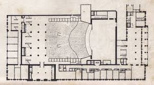 Floor Plan Of Auditorium by Modern Architecture