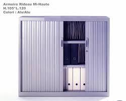 Armoire Rideau Mi Haute H 105 L 120 Mobilier De Bureau Discount Armoire Metallique Bureau