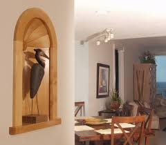 Wall Decor Decorating Recessed Wall Niches Shelf Foyer How To