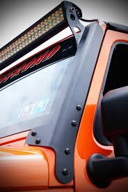 jeep light bar jeep jk led light bar mounting brackets hyline offroad