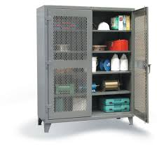 heavy duty steel storage cabinets strong hold products ventilated cabinets