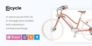 bicycle single product html5 template by uxseven themeforest