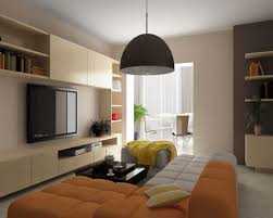 warm color living room one of the best home design