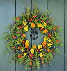 spring door wreaths enchanting summer wreath ideas for front door gallery image