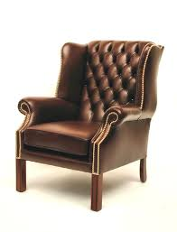 Leather Wingback Chair With Ottoman Design Ideas Chair Design Ideas Leather Wingback Chairs With Ottoman Leather