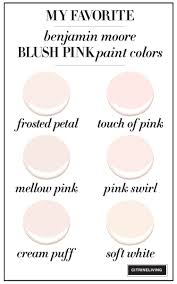 a blush pink bedroom makeover pink paint colors benjamin moore