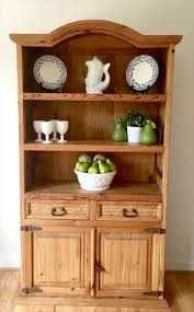 Kitchen Furniture Hutch Diy Recycled Pine Wood Kitchen Hutch Diy And Crafts