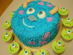 12 best monsters inc cake ideas images on pinterest monsters inc