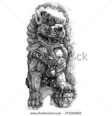 foo dog foo dog stock images royalty free images vectors