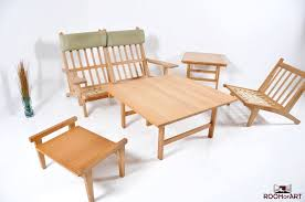 Hans Wegner Sofa by Ge 375 2 Sofa In Oak By Hans J Wegner Room Of Art