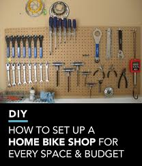 bike workshop ideas how to set up a home bike shop for every space and budget