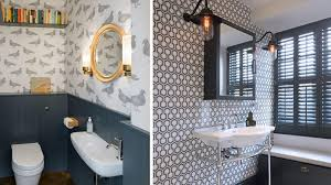 powder rooms that make serious style statements