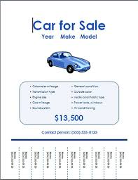 car for sale flyer template 5 free car for sale flyer templates