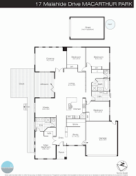 rest floor plan 17 malahide drive miners rest vic 3352 sold realestateview