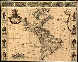 North And South America Map by And South American Map