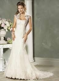 Lace Wedding Dresses Vintage Lace Wedding Dress Weddbook