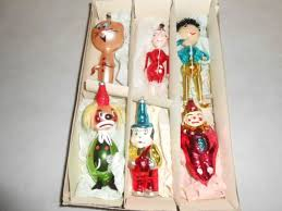 206 best vintage glass christmas ornaments images on pinterest