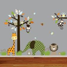 wandtattoos für kinderzimmer wandtattoos wandtattoo kinderzimmer baum waldwald tiere ein über