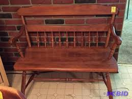 Antique Parsons Bench S Bent U0026 Bros Colonial Parsons Bench Eden Prairie Estate 2