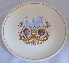 wedding plate diana royal wedding plate princess prince charles 1981 ebay