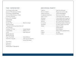 wedding ceremony programs exles sle wedding program wording endo re enhance dental co