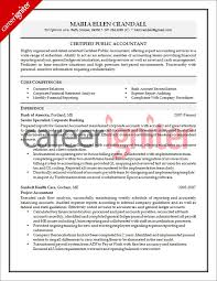 job resume certified public accountant application with cover