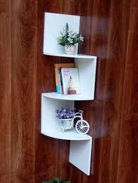 Wall Corner Shelves by Saganizer Corner Shelf Brown Corner Shelf Unit 5 Tier Corner
