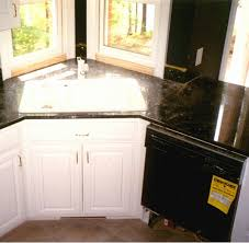 Corner Sink In Kitchen Kitchen Corner Sink Base Cabinet Design All Home Decorations