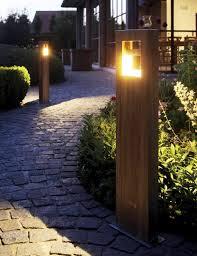 decoration inspiring garden bollard light crowning glory for any