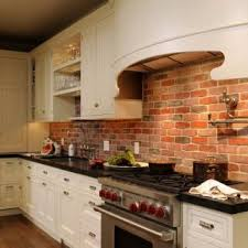 brick backsplash kitchen exposed brick kitchen backsplash kitchens pinterest