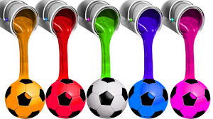 learn colors with soccer balls for children toddlers babies