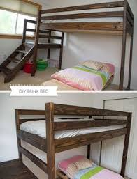 Ana White Bunk Bed Plans by Ana White Build A Camp Loft Bed With Stair Junior Height Free