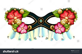 halloween carnival background vector ornate mardi gras carnival mask stock vector 524724940