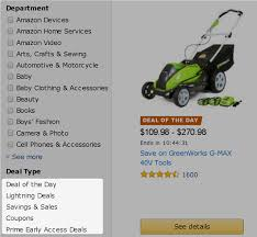 amazon black friday mower sales how to get the best amazon prime day deals