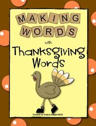 words thanksgiving words thanksgiving words