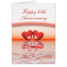 35 wedding anniversary 35 year wedding anniversary cards 35 year wedding anniversary