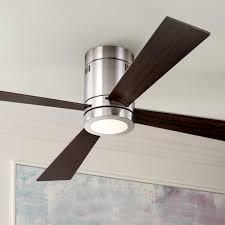 casa elite hugger fan 52 casa vieja revue brushed nickel led ceiling fan cropped