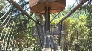 diy treehouse inventor creates ewok world in rural oregon youtube