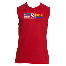 Usa Rainbow Flag 09 Gildan 2700 Sleeveless Resist Usa Rainbow Flag U2013 Rub It