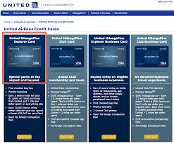 Business Card Credit Credit Cards To Consider United Mileageplus Business Card